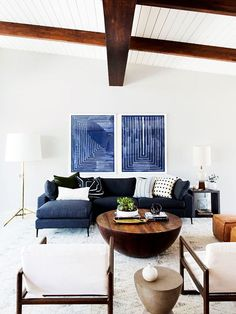 Yes, You Can Fit a Sectional Sofa in Any Size Space—Here's How via @MyDomaine