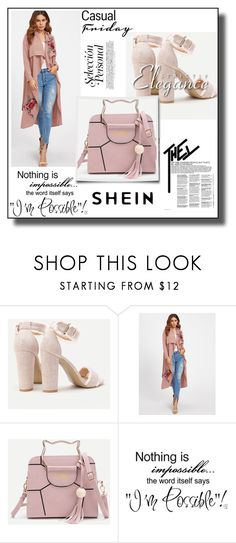 """""""SheIn 6/1"""" by dilruha ❤ liked on Polyvore featuring WALL"""