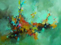 Abstract original oil painting from Julie Jilek
