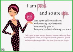 "Perfectly posh is a great at home business. I would say 90% of my business is done online.  Let's talk :) I am always looking for people to join me and my team ""The posh escape""."