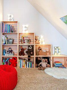 Diy Home Decor Ideas For Girls Bookshelves Ideas For 2019 Bedroom Crafts, Diy Home Decor Bedroom, Kids Bedroom, Room Decor, Bedroom Ideas, Girls Bookshelf, Bookshelves, Bookcase, Shoe Storage Shelf