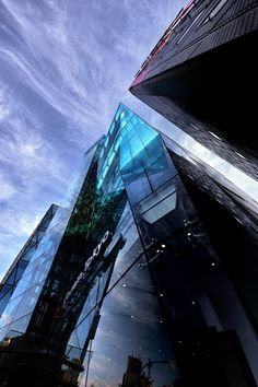 """Iceburg"" by architectural photographer Azul Obscura.  Office buildings in Tokyo."