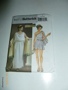 Find many great new & used options and get the best deals for Roman Greek Ancient Goddess Tunic Toga Fantasy Costume Cosplay Sewing Pattern at the best online prices at eBay! Free shipping for many products! Costume Patterns, Sewing Patterns, Ancient Goddesses, Fantasy Costumes, My Ebay, Roman, Greek, Tunic, Cosplay