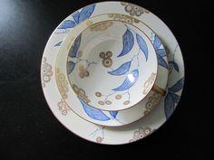 Vintage 1940s Rosenthal Selb Germany China cake set.  eBay