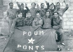 Spain - 1936-39. - GC - POUM - miliciens