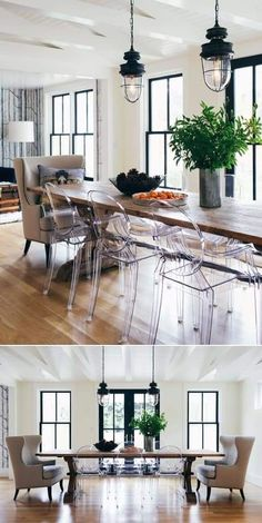 Living Room Chairs, Dining Chairs, Dining Table, Wood Table, Lucite Chairs, Dining Furniture, Kids Furniture, Furniture Sets, Casual Dining Rooms