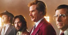 Just my favorite movie ever! Ron Burgundy's Guide To Dress For Success - An ANCHORMAN 2: THE LEGEND CONTINUES Infographic