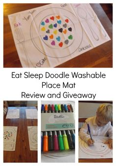 Eat Sleep Doodle Review and Giveaway |www.parenthoodhighsandlows.com