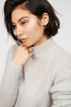 It doesn't get much cosier than the Ariana Sweater. A winter must have, the Ariana is a luxe blend of recycled fibres that would otherwise end up in landfill and some of our cosy favourites - mohair and wool. Soft to the touch, this sweat features a high neck and knitted details with ribbing. Pair the Ariana with a midi skirt or use it to layer and keep cosy this season. Recycled nylon blend Knit detailing Ribbed Long sleeve Crewneck Material: 40% Recycled Nylon 30% Mohair 30% Wool New Zealand Winter, Winter Must Haves, Cosy, Long Sleeve Tops, Knitwear, Midi Skirt, Crew Neck, Touch, Sweaters