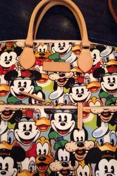 Dooney & Bourke. I saw this pattern in the Mgic Kingdom and it's adorable in person. I love it!