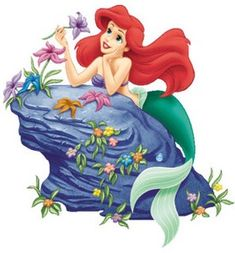 Mermaid cross stitch pattern - Cross stitch Disney princess Ariel - No background - Cute cross stitch chart - Cartoon - DMC Disney Magical World, Disney Magic Kingdom, Disney On Ice, Disney Wiki, Baby Disney, Princesa Ariel Da Disney, Ariel Disney, Minnie Y Mickey Mouse, Disney Drawings