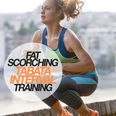 Fat Scorching Tabata Interval Training! Burn those cals quickly.