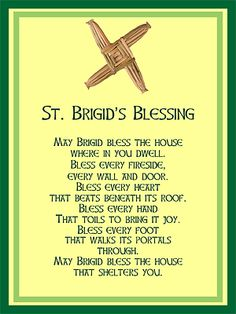 IRISH BLESSINGS- ST. BRIGID (Package of Invitation by Admin_CP6643422