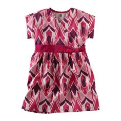 Artisan Ikat Knot Dress -I think this could be worn spring summer and fall. #TeaSummer