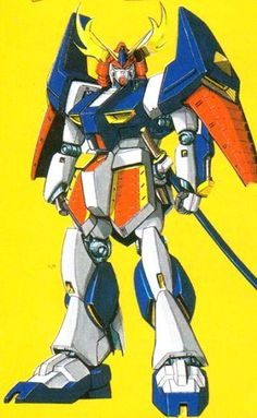 The RX-93 (TYPE-M) Musha ν Gundam is a mobile suit that appears in the SD Sengokuden spin-off series Project MUSHA (March 1989), an original story published in Comic BonBon which expands on the Universal Century timeline.
