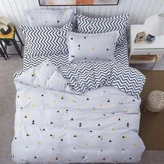 New spring bedding sets sweetheart style creativity space duvet cover set Quilt cover bed sheet pillowcase Queen King Twin Material: Polyester is_customized: No Fabric Density: Thread Count: Application Size: feet) Cheap Bedding Sets, Best Bedding Sets, Bedding Sets Online, Queen Bedding Sets, Luxury Bedding Sets, Comforter Sets, King Comforter, Affordable Bedding, Bedding Master Bedroom