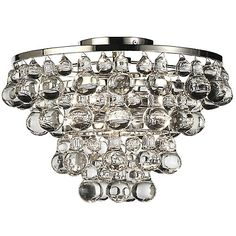 113 best close to ceiling lights images on pinterest ceiling lamps bling flushmount aloadofball Image collections
