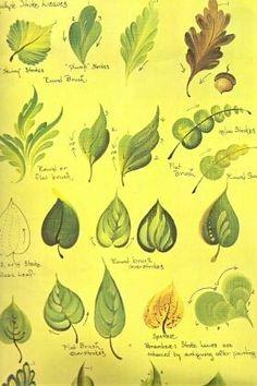 Schema foglie