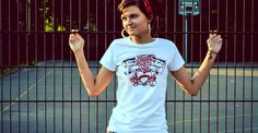 Music Might Break Your Heart. Women's t-shirt. oneirioiapparel.com.