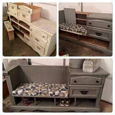 Repurposed furniture idea