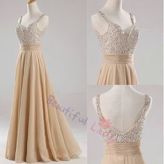 Prom Dresses on Pinterest | 20 Pins www.pinterest.com236 × 236Search by image Beaded long prom dress straps prom dress women formal beaded long evening ...