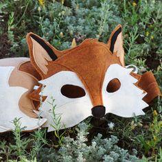Handmade Fox Eco-Felt Costume