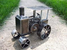 Antique Tractor by Brown Dog Welding, via Flickr