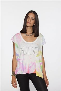 Chaser Believer Vintage Boxy Flow Muscle