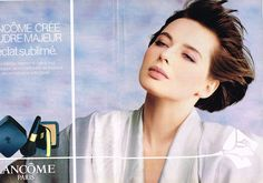 Publicite Advertising 035 1986 Lancome Cosmétiques Isabella Rossellini 2P   eBay