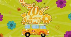 70s show by Peurey Jérôme, via Behance