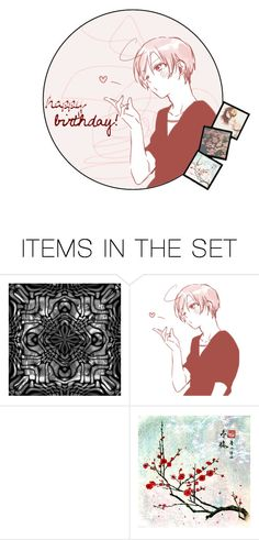 """Happy birthday to you~"" by akihabara ❤ liked on Polyvore featuring art, anime, Hetalia, artset and APH"