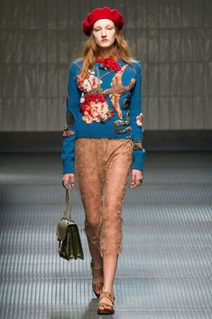 Объемная вышивка на шерстяном свитере от Gucci - Ярмарка Мастеров - ручная работа, handmade