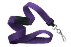 Purple Flat Breakaway Lanyard With Slide Adapter Swivel Hook By Specialist ID, Sold Individually, http://www.amazon.com/dp/B00BFF6X1O/ref=cm_sw_r_pi_awdl_YQr1ub109V1GF