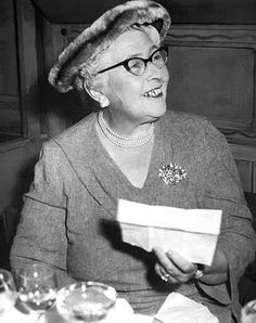 agatha christie - the best mystery writer in all time that keeps you coming back.