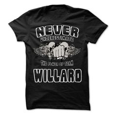 Click here: https://www.sunfrog.com/LifeStyle/Never-Underestimate-The-Power-Of-Team-WILLARD--99-Cool-Team-Shirt-.html?s=yue73ss8?7833 Never Underestimate The Power Of Team WILLARD - 99 Cool Team Shirt !