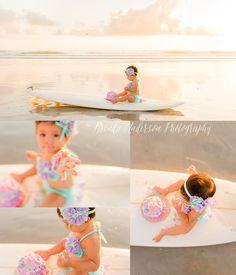 Sunrise Beach Family Photo Session smash cake first birthday https://www.facebook.com/brenda.anderson.photography/ http://www.brendaandersonphotography.com/