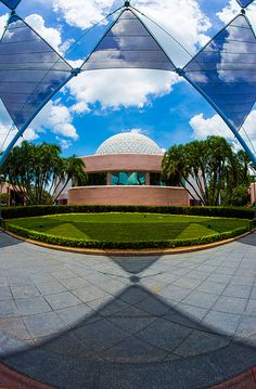 Epcot: Spaceship Earth -- attributed to Richard Buckminster Fuller