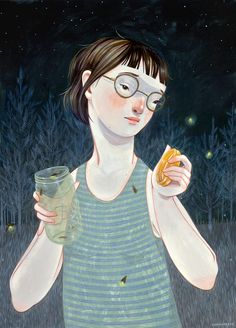 Artist Day 1 to Day 100: Rebecca Green Illustration: