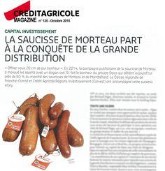 Article sur Sipas pour Crédit Agricole Magazine n°134 (Octobre 2015).