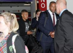 Dwight Gayle Arrives In Newcastle For Medical  Four Photos