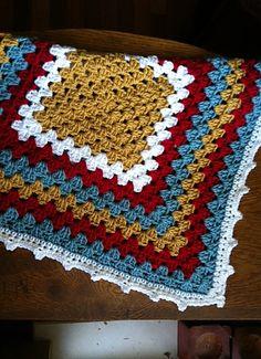 Ravelry: mission494's Multi-color cuddle blanket