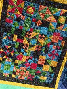 Bildergebnis für Fun Patch Quilt Pattern Tutorial