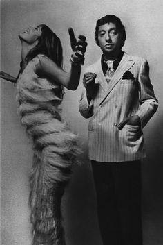 Serge Gainsbourg & Jane Birkin Guy Bourdin in 1970