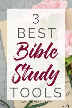 Are you wondering what Bible study tools are the best and are right for you on your spiritual growth journey? These Bible study resources are perfect for the Christian woman who want to grow in faith. Bible Study Plans, Bible Study Guide, Online Bible Study, Bible Study Journal, Scripture Study, Bible Journaling For Beginners, Bible Studies For Beginners, Bible Verses Quotes Inspirational, Understanding The Bible