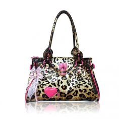 Leopard Print And Pink Gucci Handbags On Luxury Michael