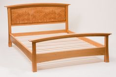 Cherry and Maple Burl Bedroom Suite - CT Fine Furniture by Craig Thibodeau