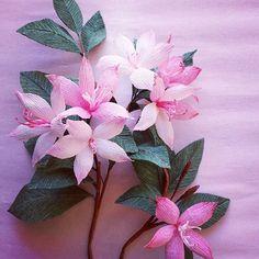 #Handmade #paper #flowers #crepepaperflowers #decoration