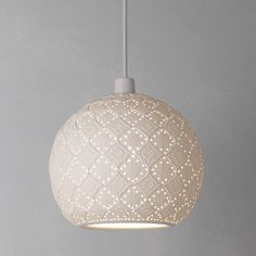 Moroccan inspired lampshade