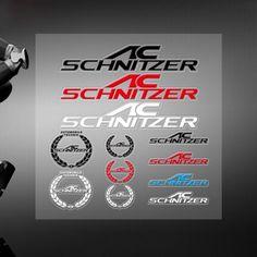 High Quality Car Styling AC Schnitzer Sticker Vinyl Glossy Emblem Decal For BMW #Unbranded
