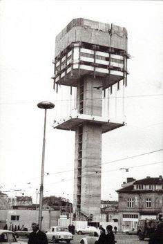 Sofia, Bulgaria / brutalism / tower  #socialist #brutalism #architecture
